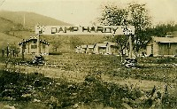 Main gate of Camp Hardy.