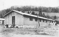 Camp Hardy Mess Hall.