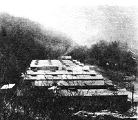 View of Camp Seebert,  Company 1535, SP-1 in 1935.
